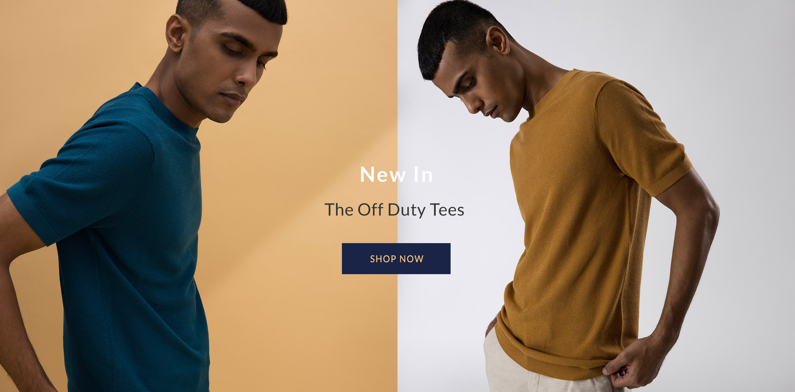 100% Supima Luxury Knit Tees for Men