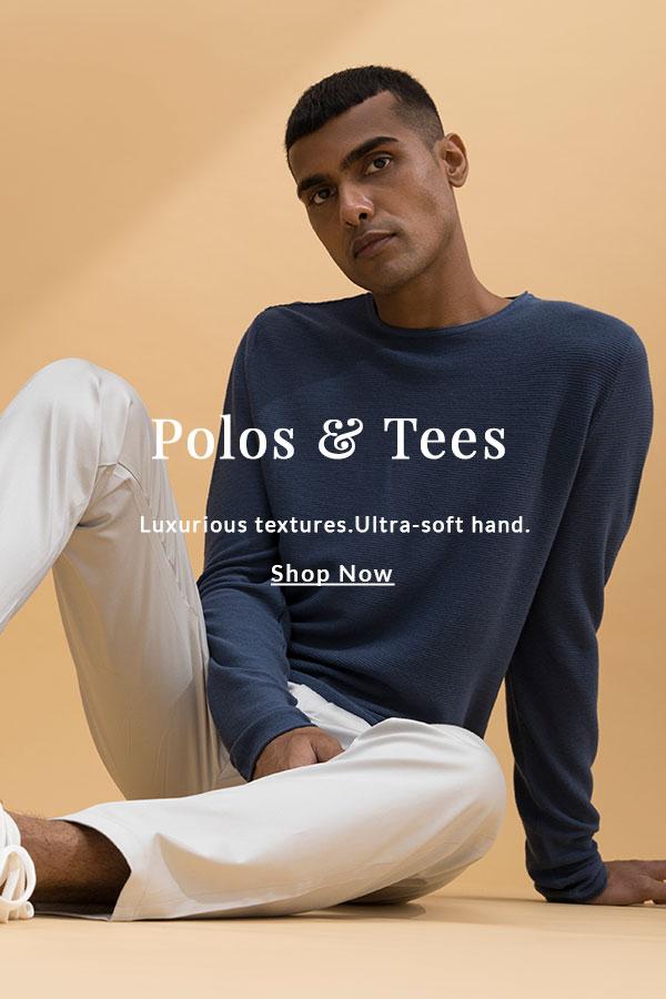 Supima Polo Shirts & Tees for Men