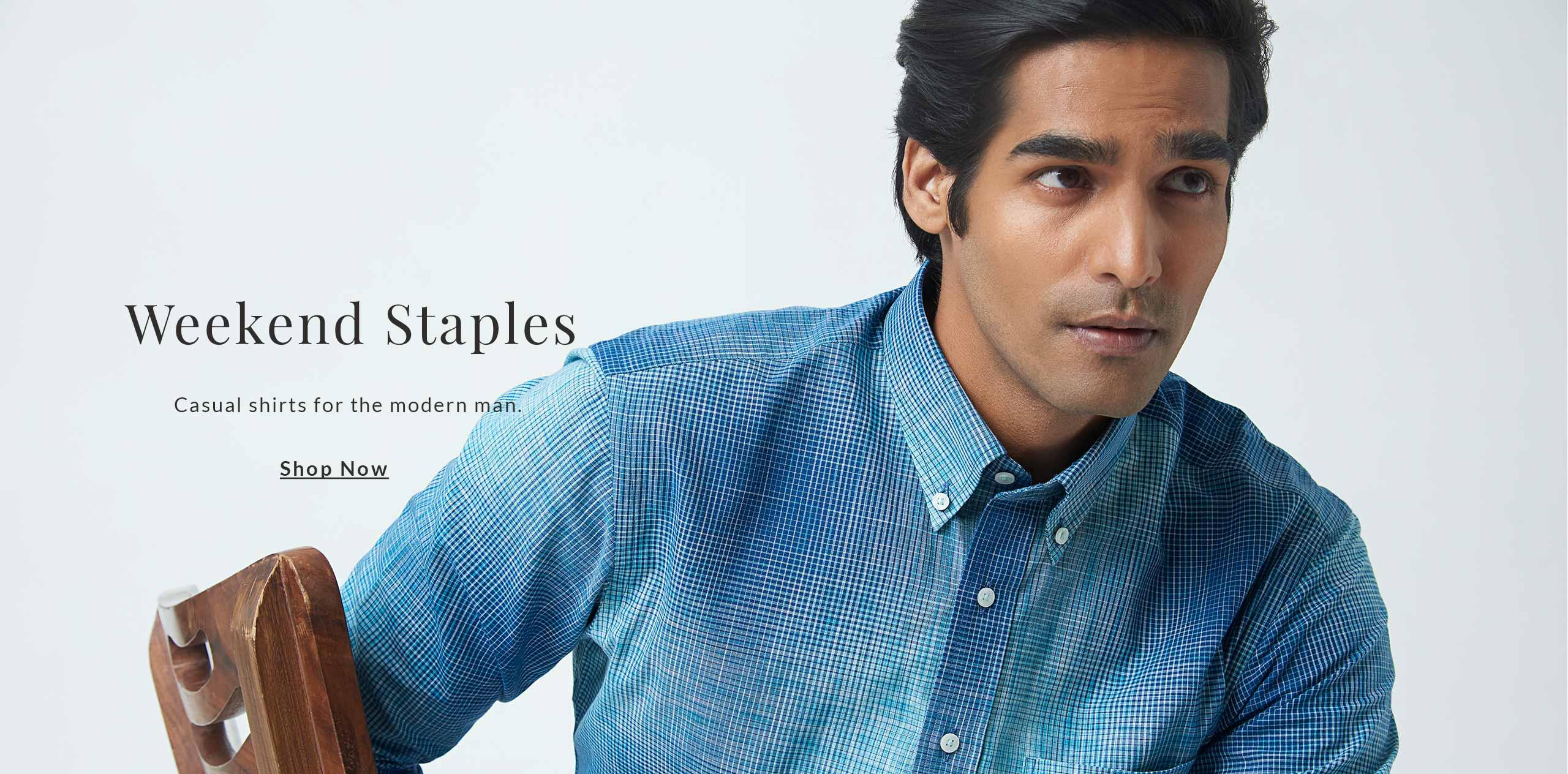 Premium Cotton Casual Shirts for Men